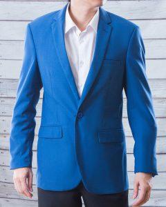 ชุดสูทผู้ชาย สีฟ้า