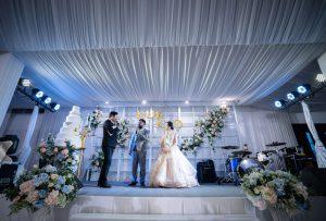 จัดงานแต่งงาน ธีมสีฟ้า