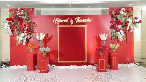 จัดงานแต่งงาน ธีมสีแดง