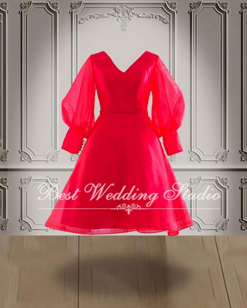ชุดไปงานแต่ง สีแดง